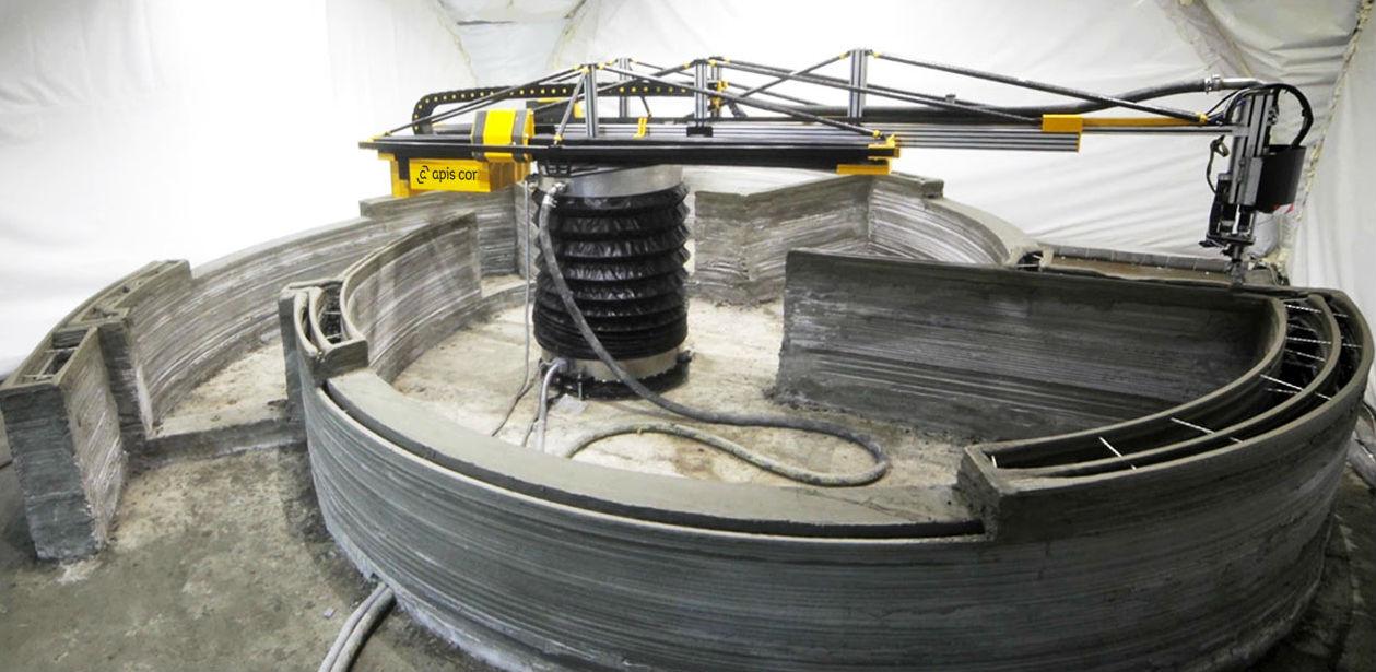 La stampante in 3D per la costruzione di case / Apis Cor