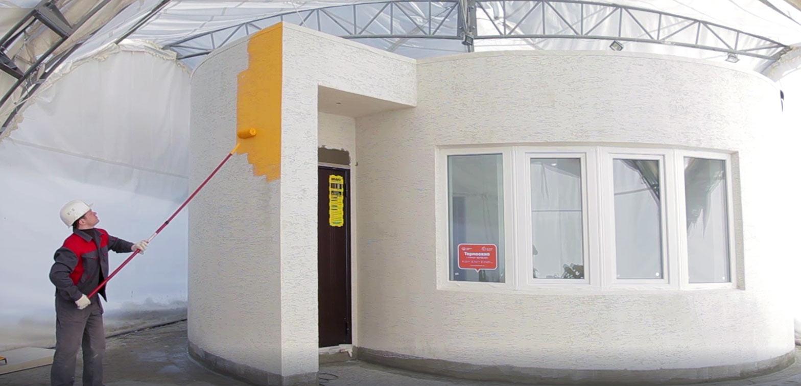 La casa di 38 m2 è realizzata in 24 ore con una spesa di 10.000 euro / Apis Cor