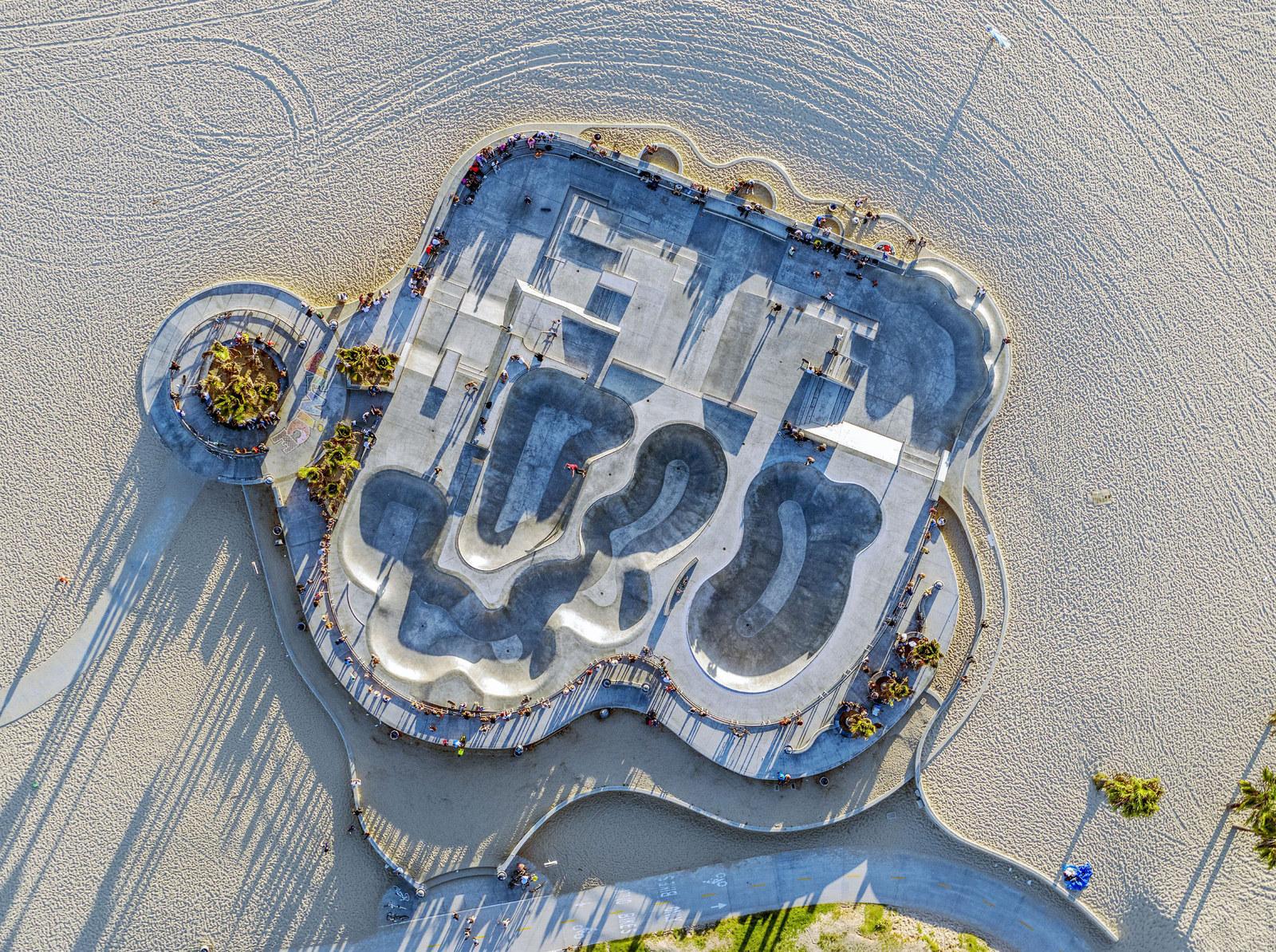 Sakte Park di Venice Beach
