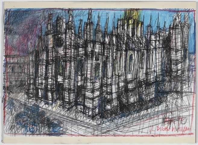 Il Duomo di Milano, 1990 / © Eredi Aldo Rossi - courtesy Fondazione Aldo Rossi