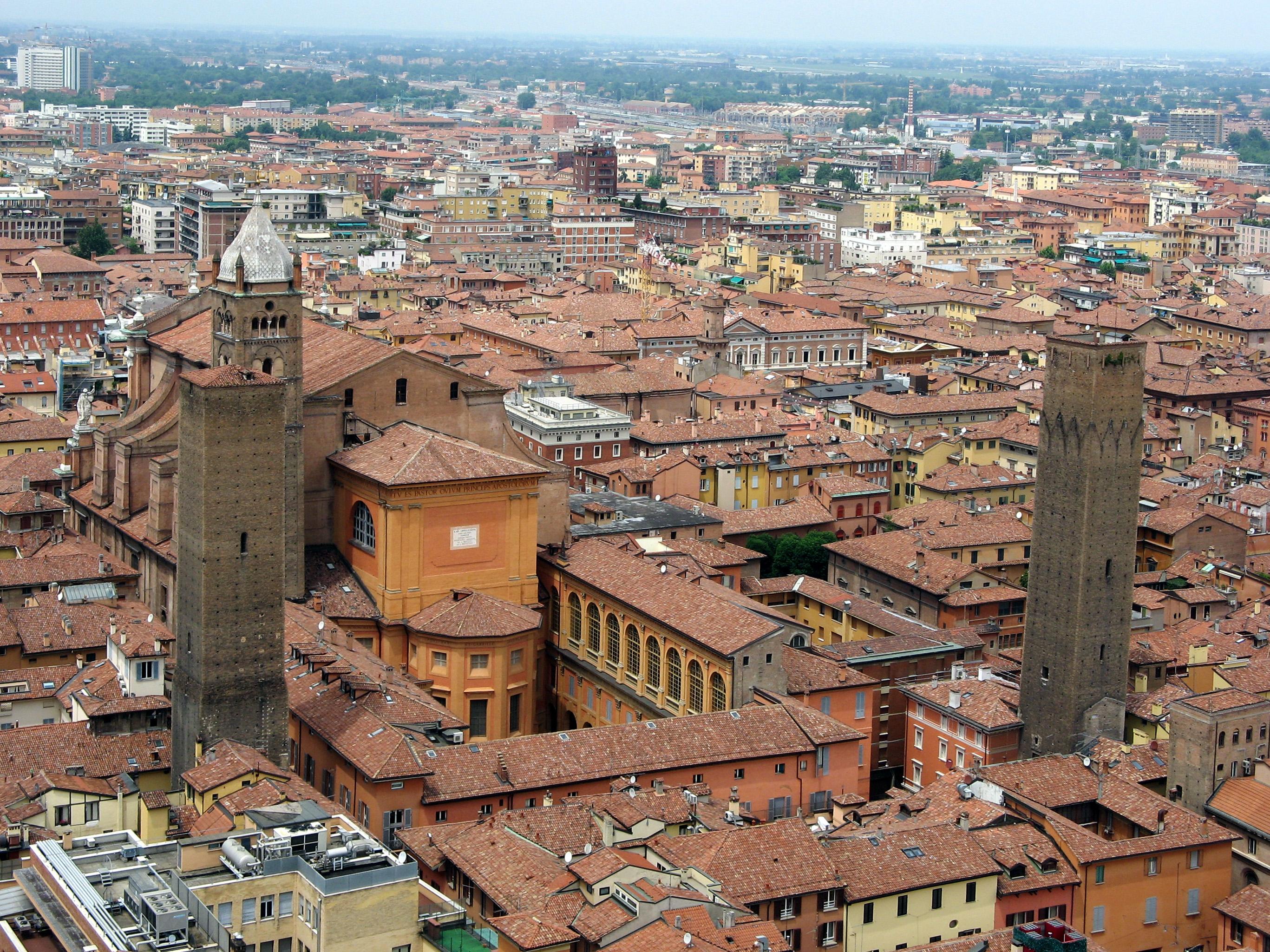 Bologna: la Torre degli Asinelli