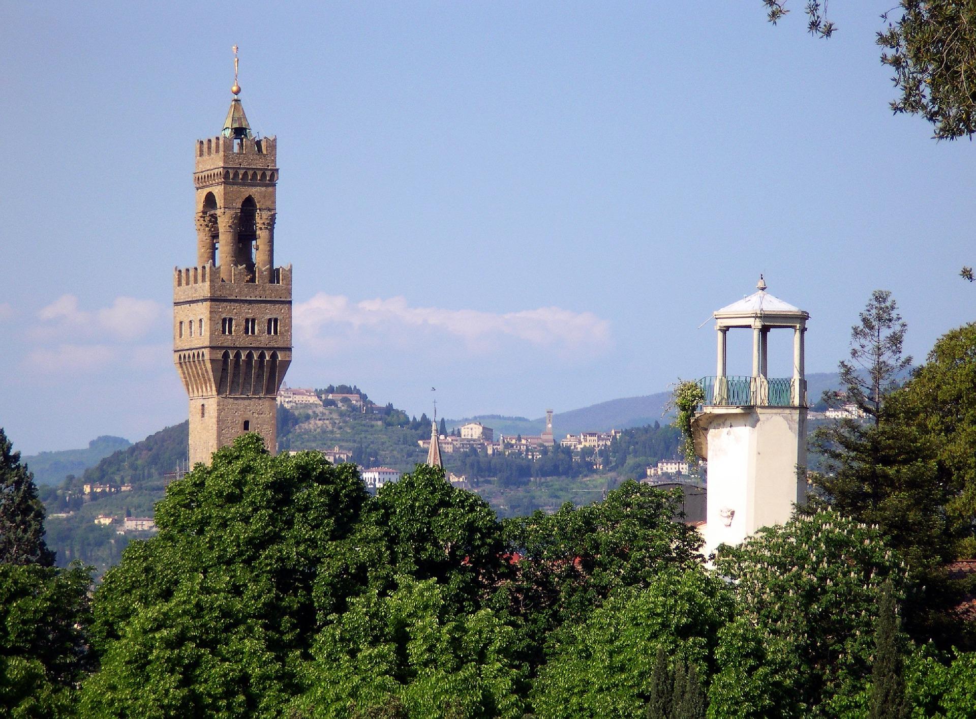 Firenze: la Torre di Arnolfo - Palazzo Vecchio