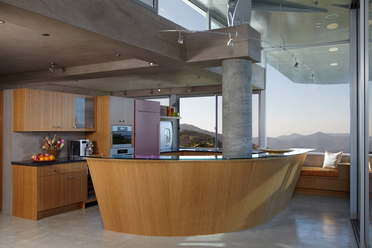 L'interno / Wing House. David Hertz EAIA