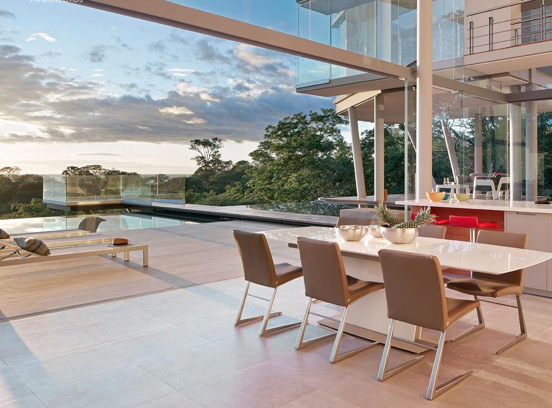 La casa è stata progettata nel 2014 dallo studio Canas Arquitectos / Cañas Arquitectos