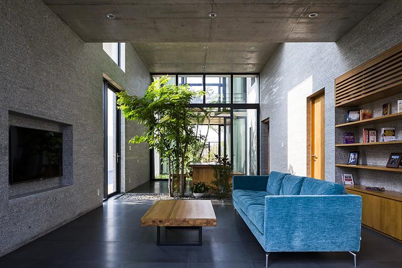 Un particolare interno / Vo Trong Nghia Architects