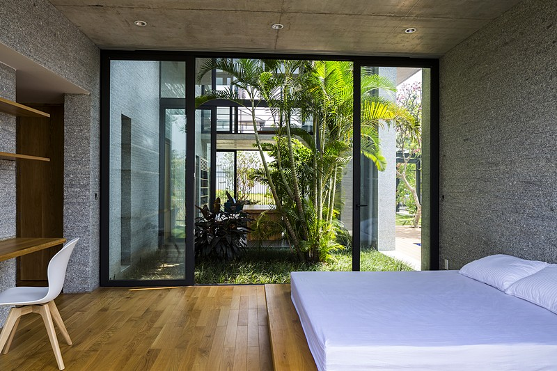 La camera da letto / Vo Trong Nghia Architects