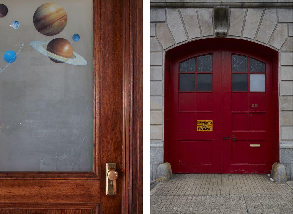 Una vecchia caserma dei pompieri trasformata in casa for Piani porta garage gratuiti