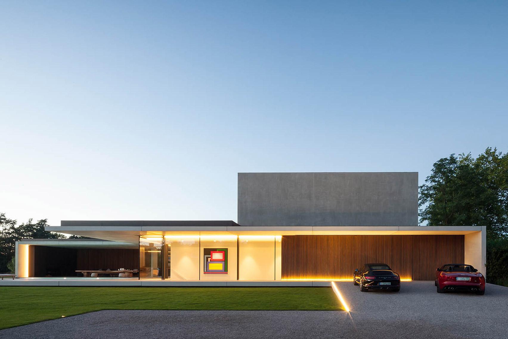 L'immobile è stato realizzato da Govaert & Vanhoutte Architects / Govaert & Vanhoutte Architects