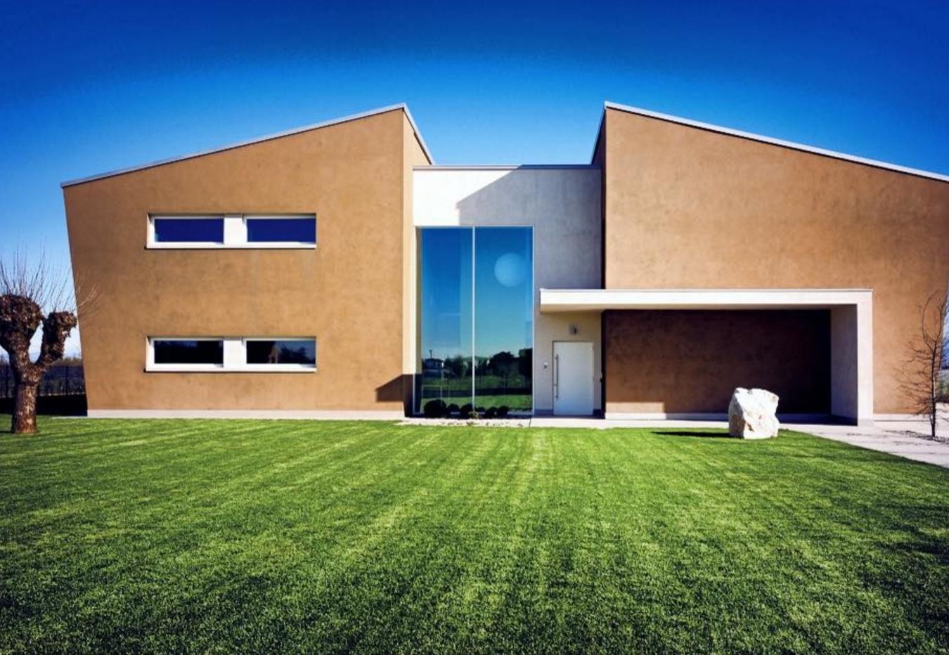 Case legno moderne case in legno moderne copertura con for Strutture case moderne