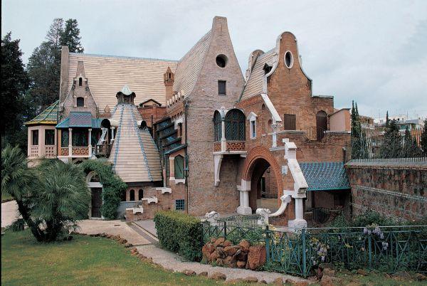 Casina delle Civette, Villa Torlonia