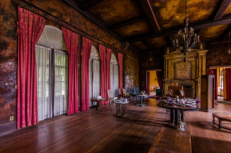 La Mansion Howey ha vissuto il suo massimo splendore nei primi Anni '20 e '30 del secolo scorso / Realtor