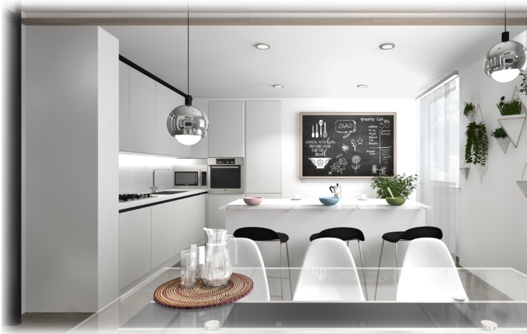 Arredamento zona giorno open space idealista news for Arredare casa in bianco