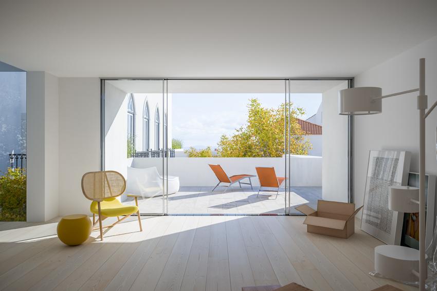 Un altro particolare della lussuosa abitazione / Porta da Frente