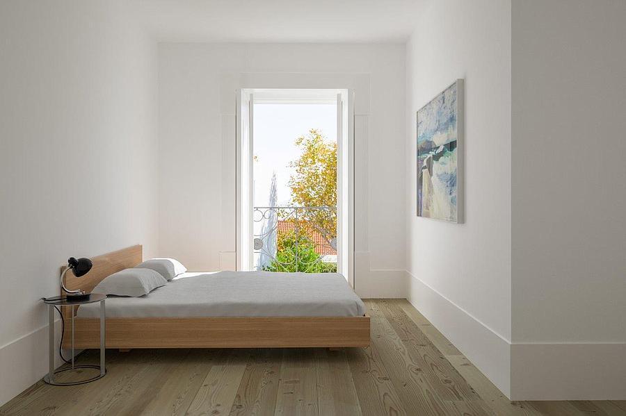 Una camera da letto / Porta da Frente
