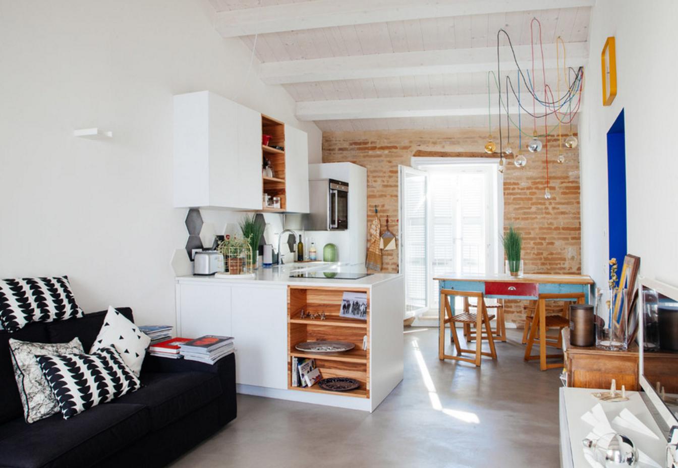 Case Piccole Come Arredarle : Ecco come arredare una casa con poco spazio