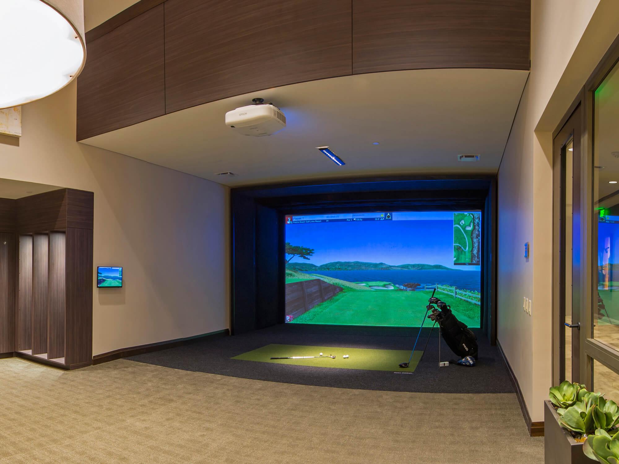 E anche un campo da golf virtuale / Market Square Tower