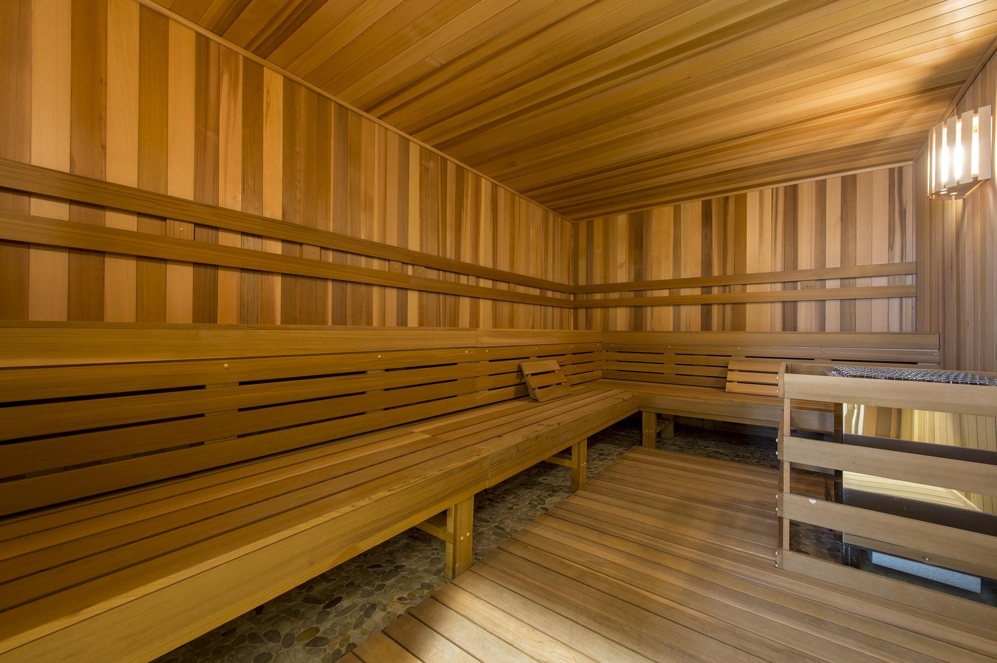 La sauna / Market Square Tower