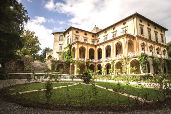 Villa di Striano, Mugello