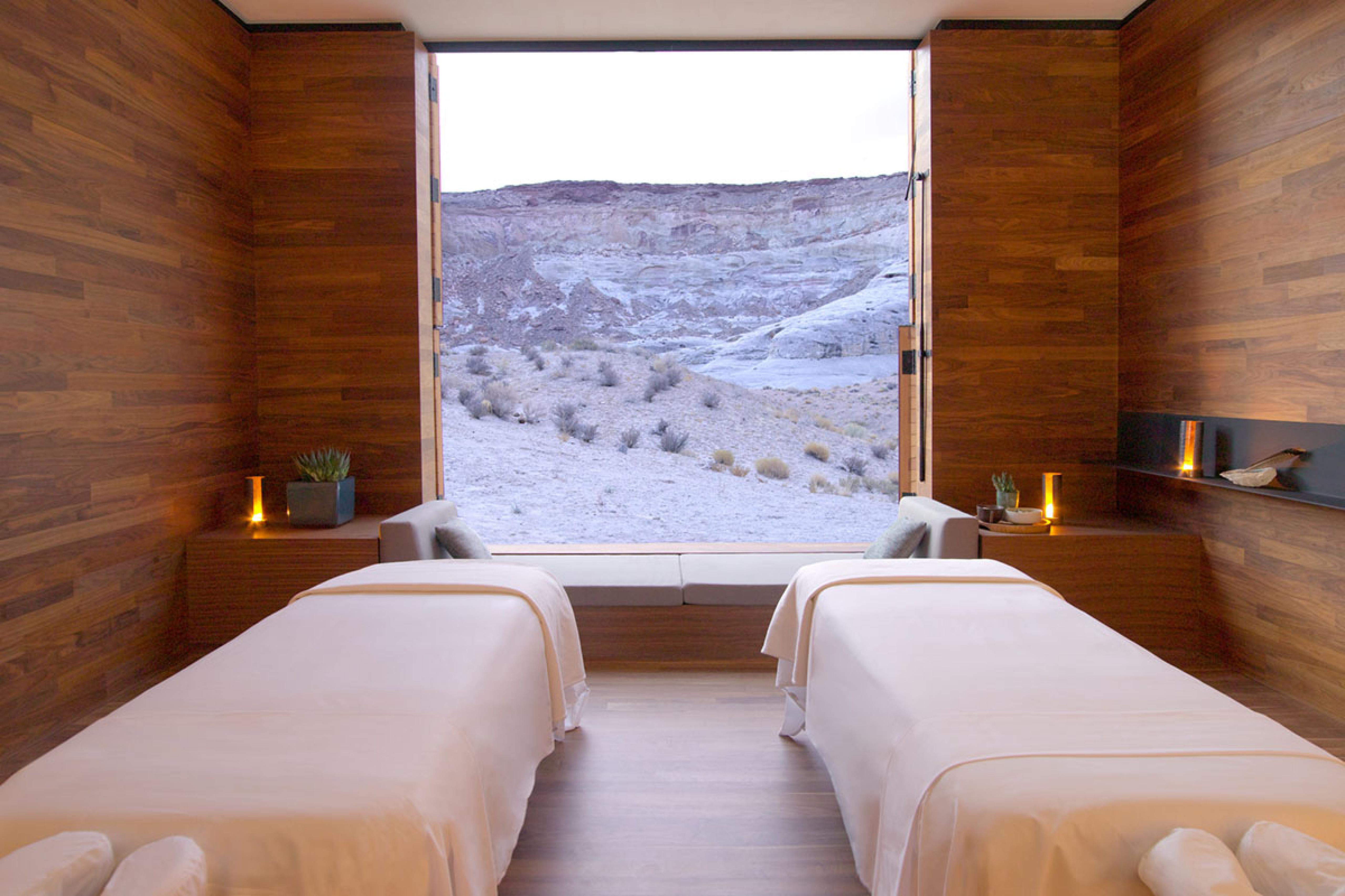 Un particolare delle camere / Amangiri Resort