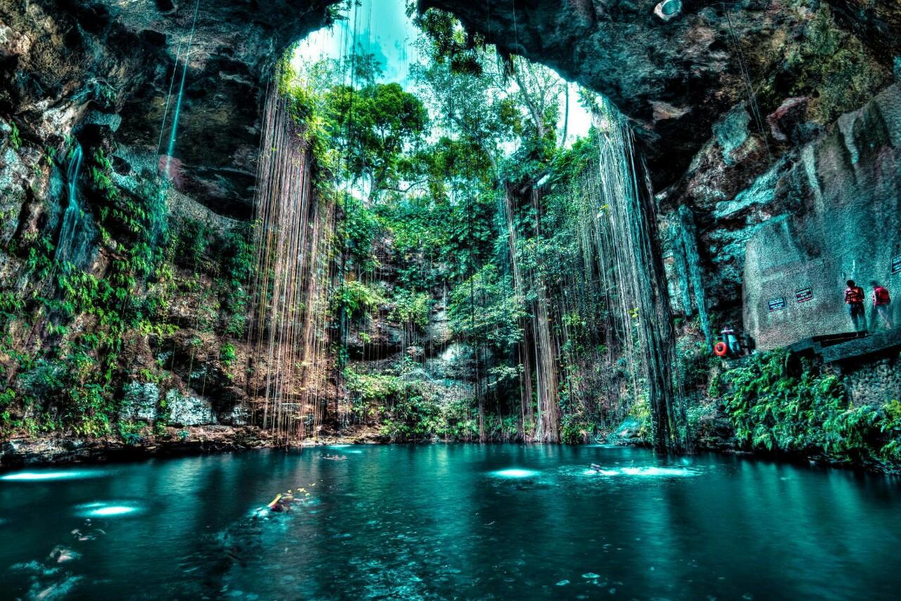 Cenote Ik Kil (Yucatán, Messico)