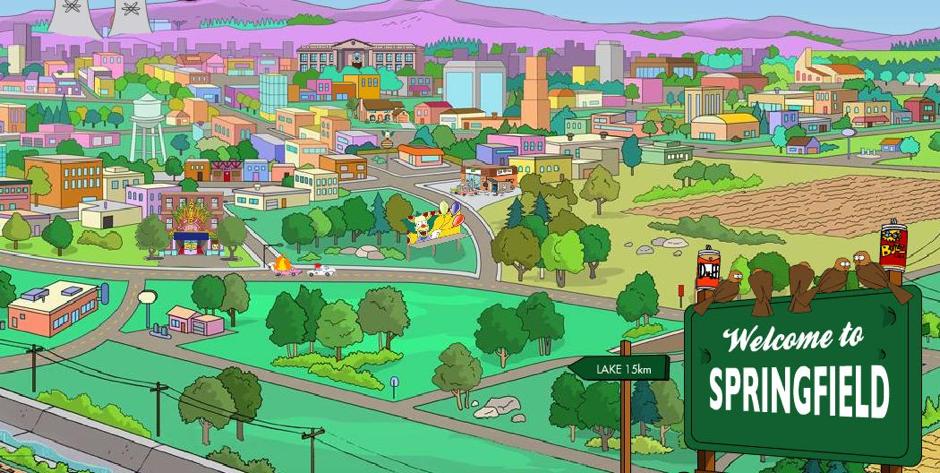 Springfield, I Simpson