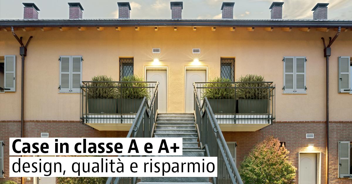 Case nuove a risparmio energetico classe A