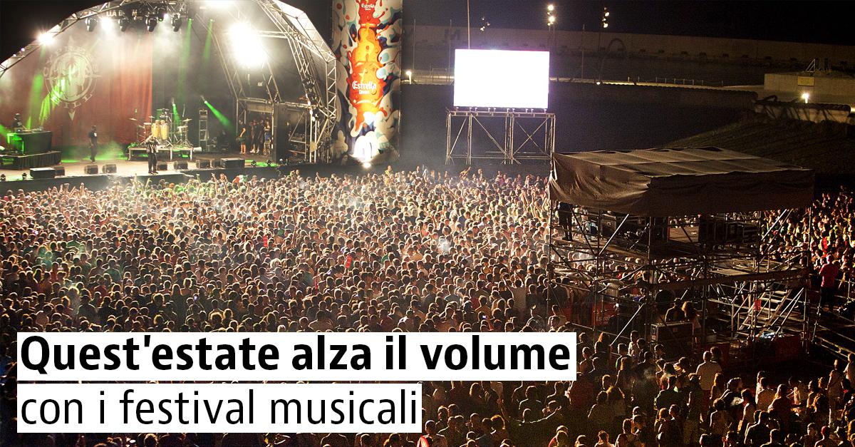 Festival musicali in Europa: estate 2017