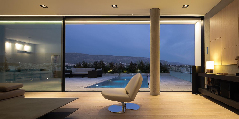Il panorama che si gode dalla casa / George Messaritakis