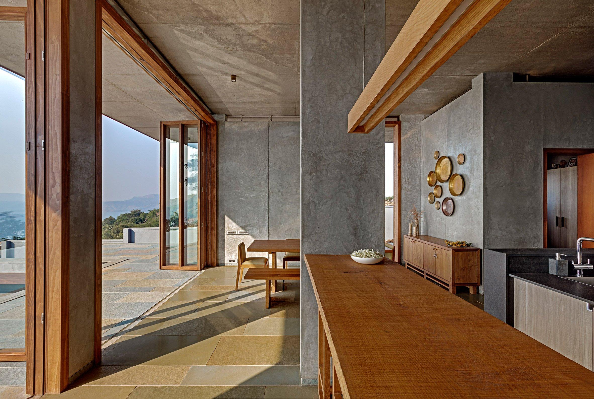 Il posto ideale per meditare e godere della bellezza delle montagne dell'India / Shamanth Patil J.