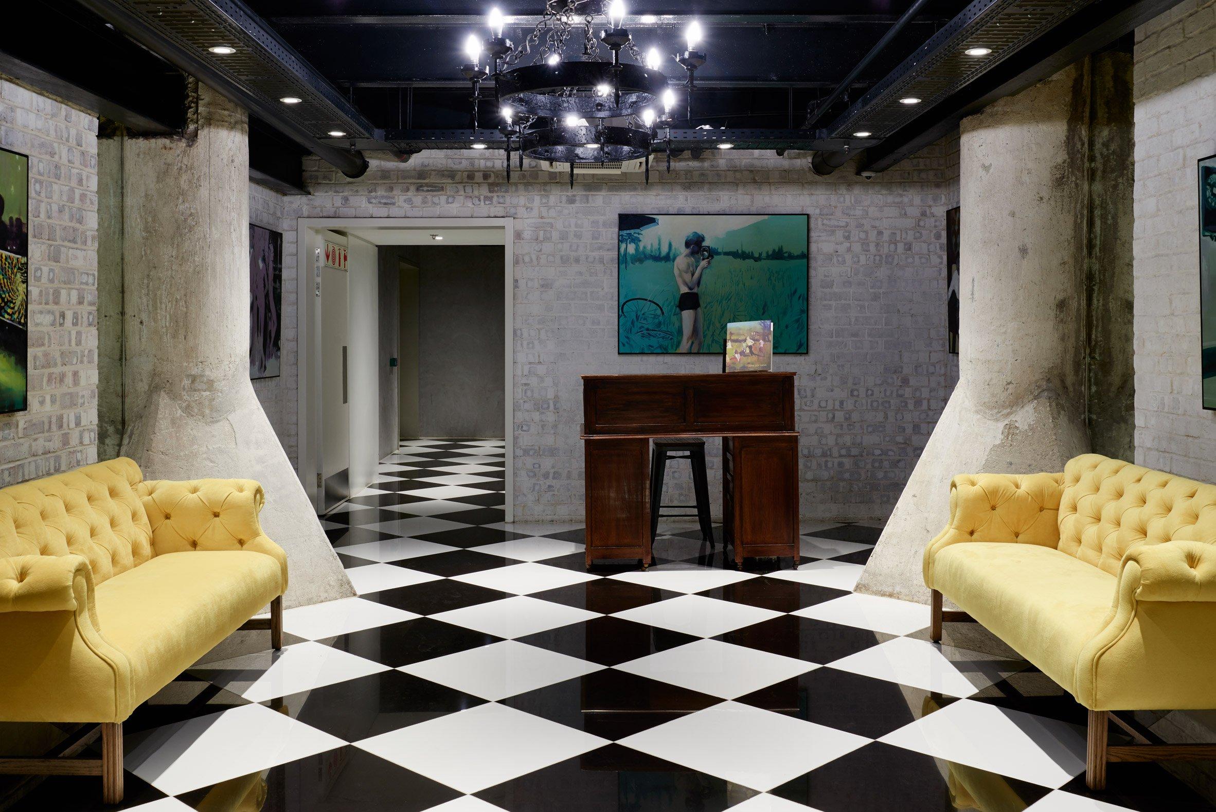 Un particolare dell'interno dell'hotel / The Royal Portfolio hotel