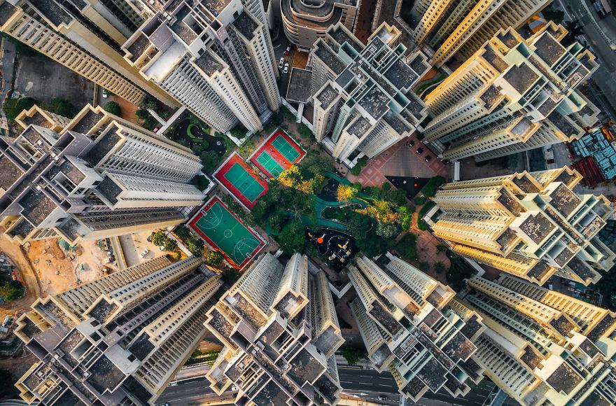 I grattacieli di Hong Kong / AndyYeung