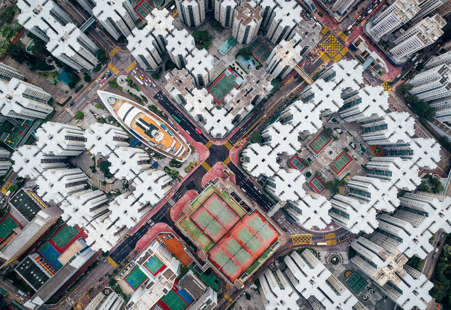 Una visuale diversa della città / AndyYeung