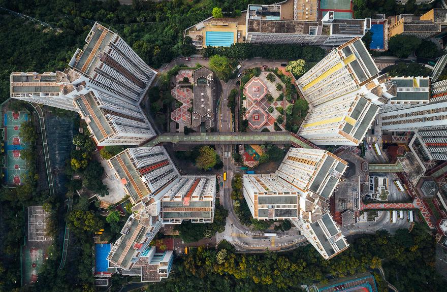 Le immagini catturate dal drone offrono uno spettacolo incredibile / AndyYeung