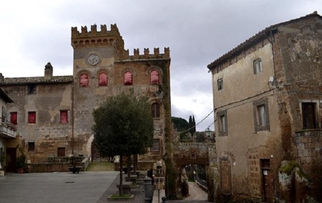 Il Castello di Blera vicino Viterbo tra gli immobili favoriti / Agenzia del Demanio