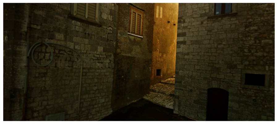 cinemascapes: google street view - Morrone del Sannio, Italia