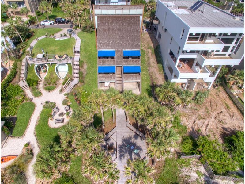 L'immobile visto dall'alto / Modern Sarasota