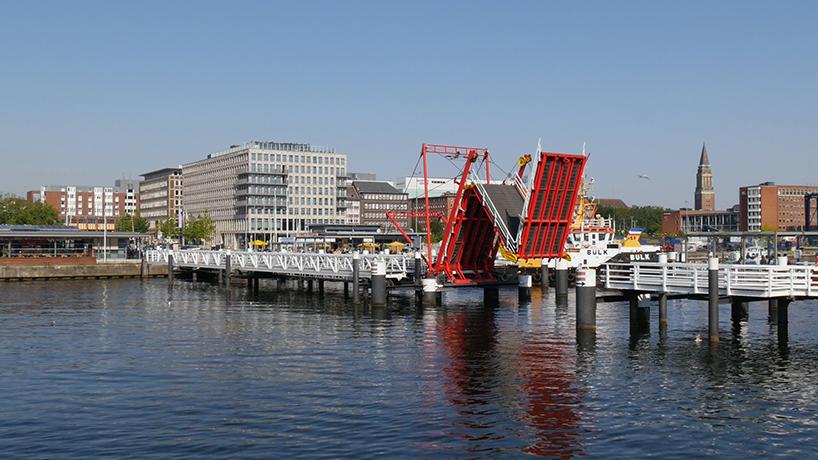 Hörn Bridge, Kiel (Germania)