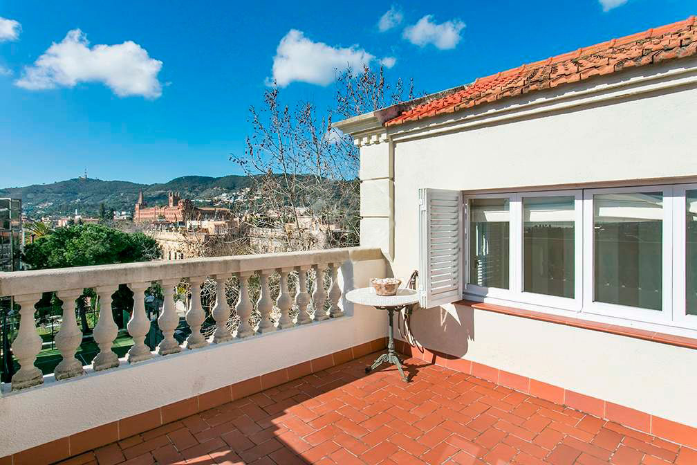 L'immobile si trova nella zona residenziale di Barcellona La Bonanova