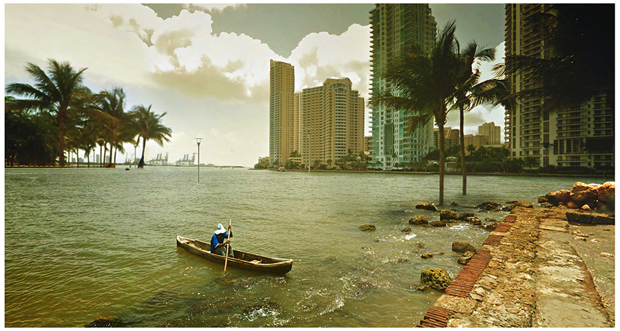 cinemascapes: my street view edition - Miami (2030)