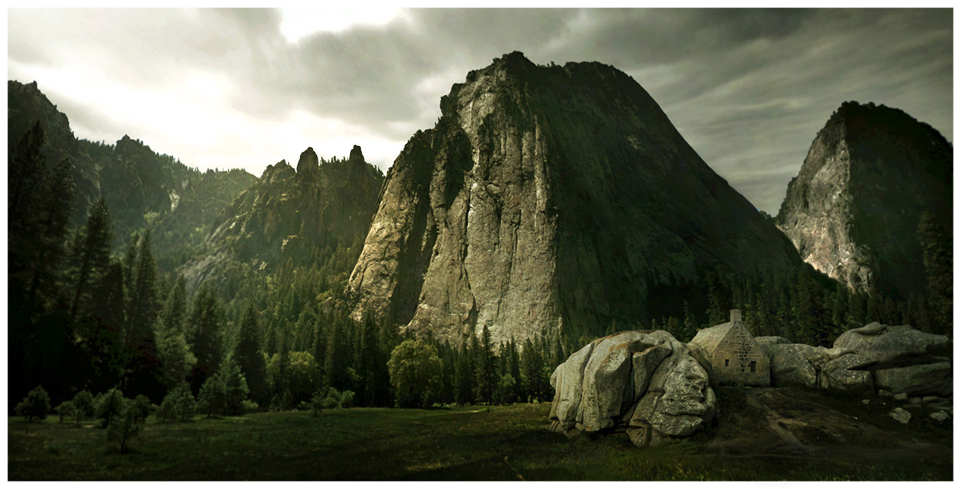 cinemascapes: my street view edition - Middle-earth