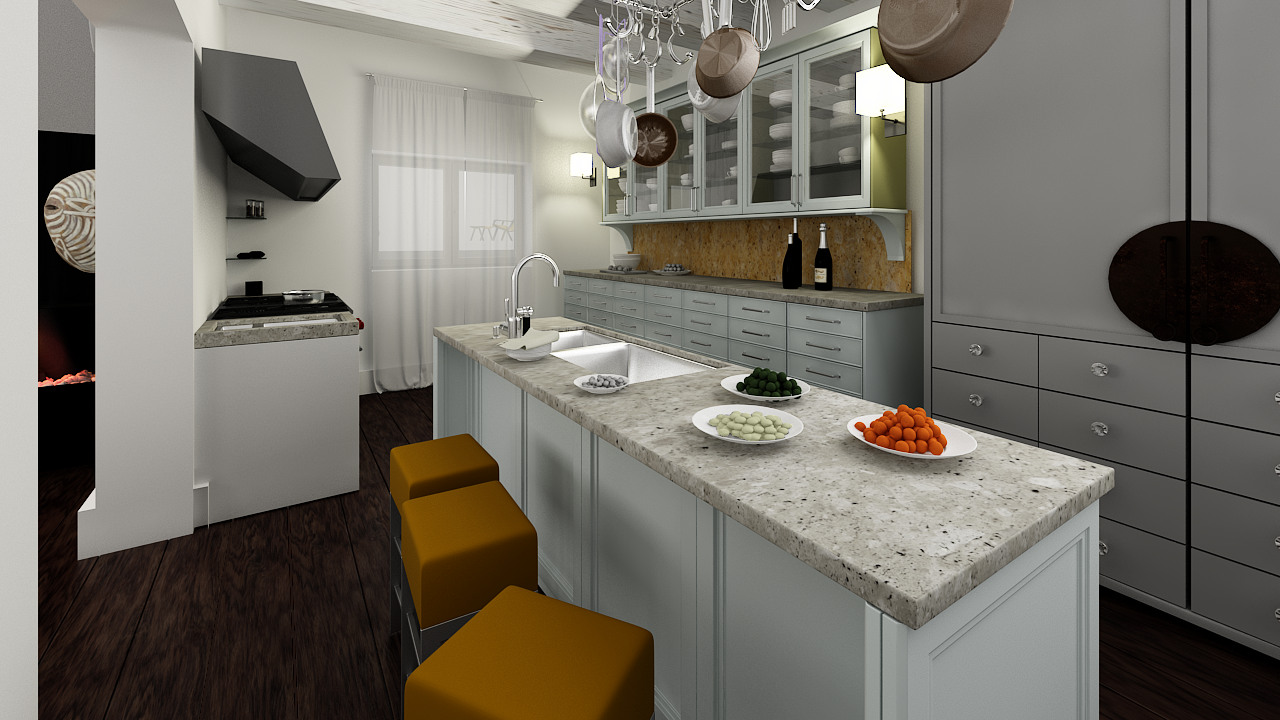 Come Decorare Una Cucina Rustica come arredare una casa unendo lo stile rustico al moderno