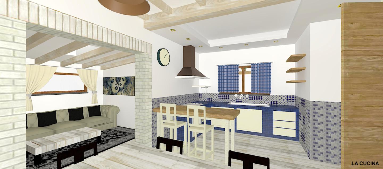 Come arredare una casa unendo lo stile rustico al moderno for Rustico un telaio cabina