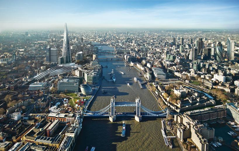 Il ponte di Londra (Inghilterra)