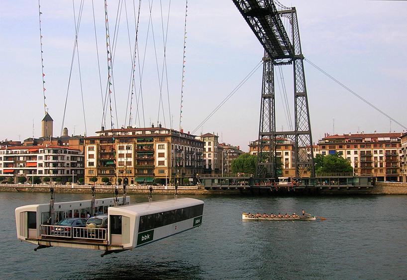 Ponte di Vizcaya, di Alberto Palacio. Getxo/Portugalete (Spagna)