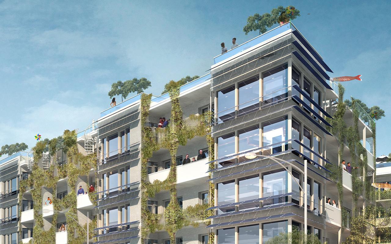 I lavori, per opera dello studio di architettura Frey Architekten, hanno avuto inizio nel 2015 / Frey Architekten