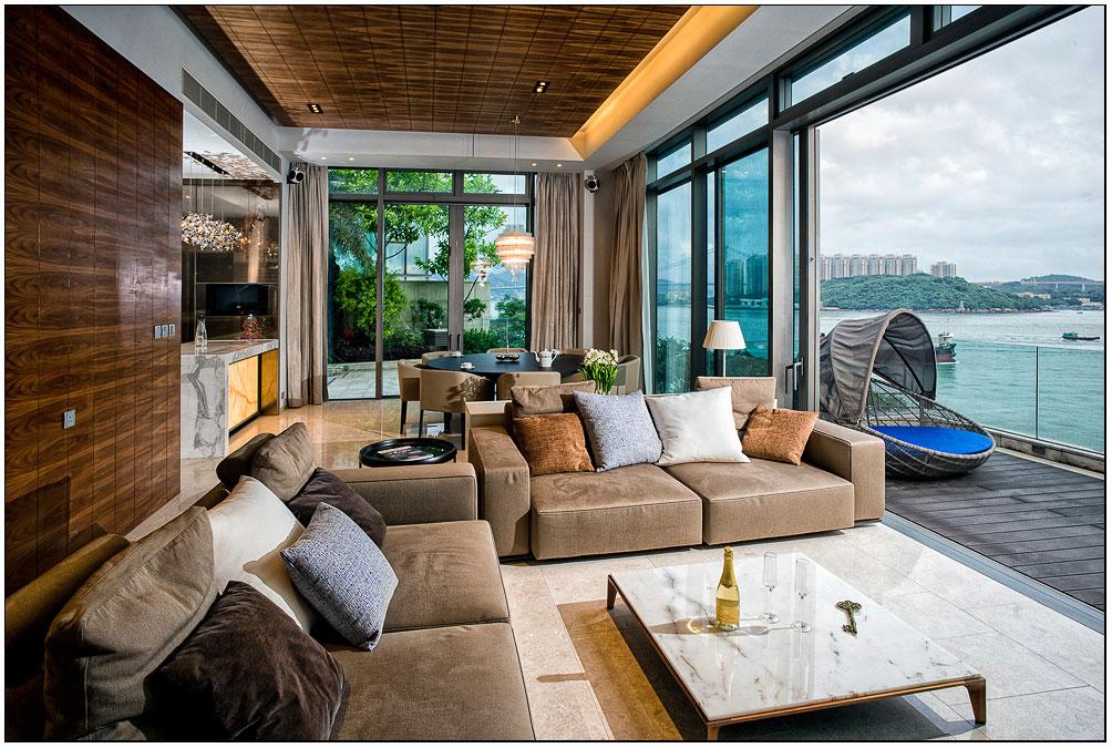 L'appartamento si trova a Hong Kong / Homedsgn