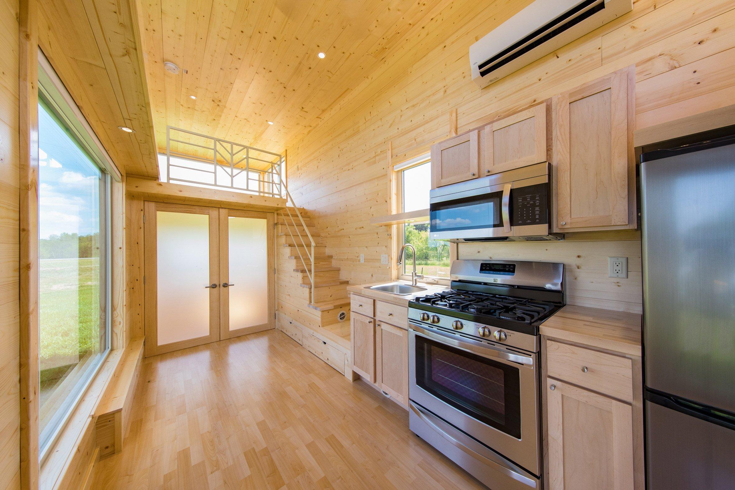 L'abitazione permette di risiedere dove si vuole al costo di 69.800 dollari, circa 58.500 euro /  Steve Niedorf and ESCAPE RV