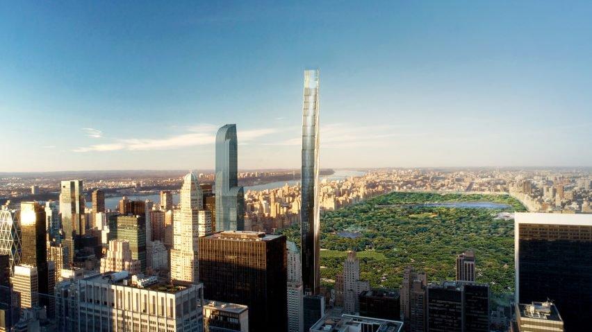 Il grattacielo sarà pronto nel 2019 / Extell / AS+GG