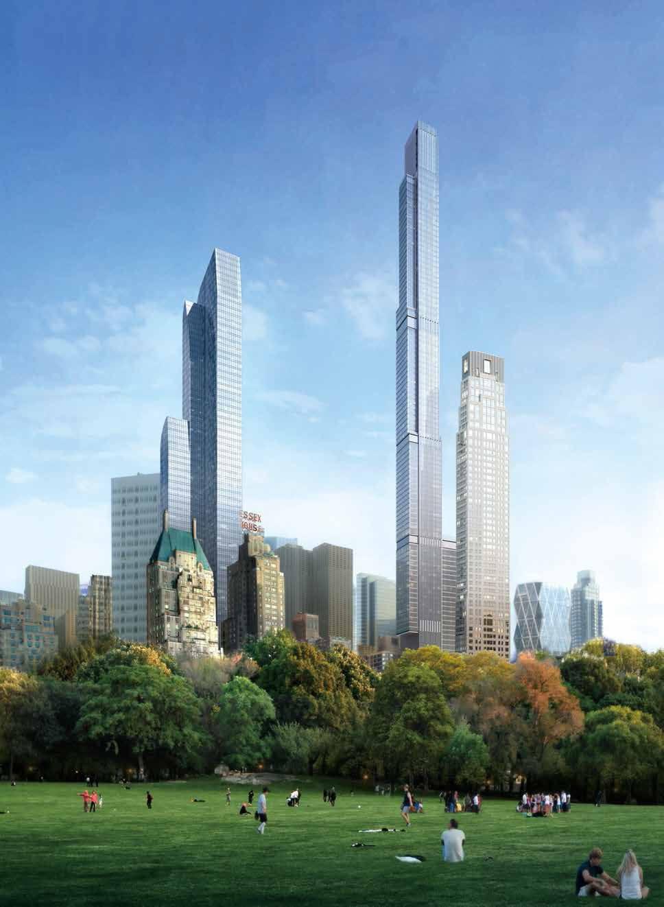 New york saranno cos gli appartamenti del grattacielo for Piani di lusso di un livello