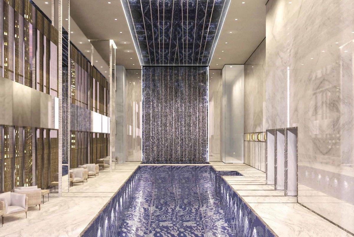 I suoi lussuosi appartamenti saranno venduti a 95 milioni di dollari / Extell / AS+GG